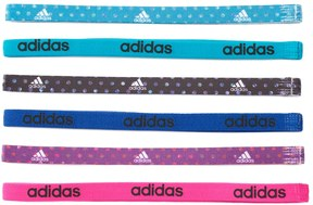 Adidas Women's Adidas Fighter 6-pk. Dotted & Solid Headband Set