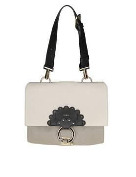 Furla Shoulder Bag Scoop S In Leather Sand
