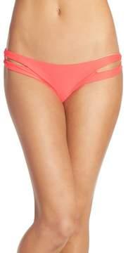 Luli Fama 'Zig Zag' Reversible Cutout Bikini Bottoms
