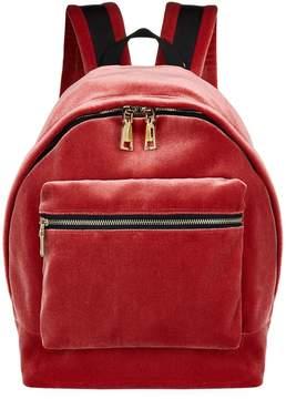 Sandro Velvet Backpack