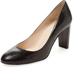 LK Bennett L.K.Bennett Women's Manila Embossed Leather Pump