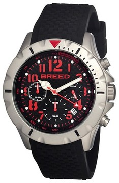 Breed Men's Sergeant Watch with Full Function Chronograph