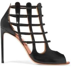 Francesco Russo Cutout Leather Sandals