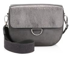 Brunello Cucinelli Leather Messenger Bag