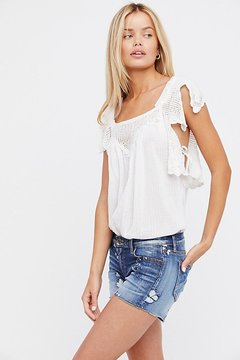 Driftwood Connie Denim Short by at Free People