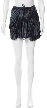 Diesel Printed Mini Skirt