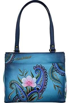 Anuschka Women's Genuine Leather Flap-Over Medium Shoulder Bag | Chic & Stylish Organizer |