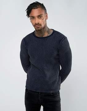 Replay Waffle Knit Sweater