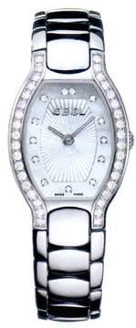 Ebel Beluga Tonneau Mini Mother of Pearl Dial Diamond Bezel Ladies Watch