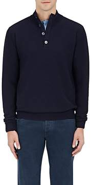 Caruso Men's Wool Mock-Turtleneck Sweater