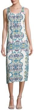 Ella Moss Women's Floral Crewneck Dress