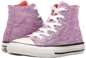 Converse Chuck Taylor All Star Jersey Knit Hi Girl's Shoes