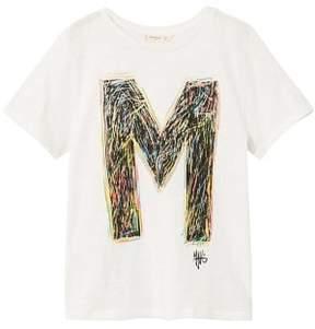 MANGO Message t-shirt