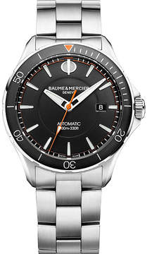 Baume & Mercier M0A10340 Clifton Club stainless steel watch