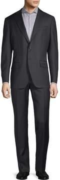 Luciano Barbera Men's Notch Wool Suit