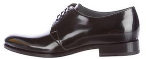 Christian Dior Leather Derby Shoes w/ Tags