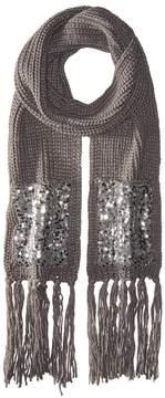 Betsey Johnson Sequins Shine Muffler