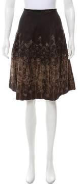 Dries Van Noten Embroidered Silk-Blend Skirt