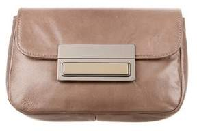 Lauren Merkin Leather Iris Clutch