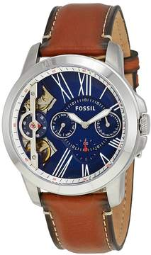 Fossil Grant Automatic Blue Dial Men's Watch