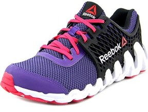 Reebok Zigtech Big N Fast Ex Youth Round Toe Synthetic Purple Running Shoe.