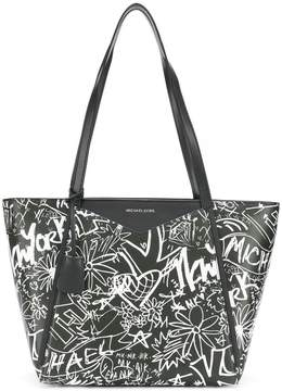 MICHAEL Michael Kors two-tone sketch bag