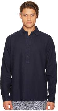 Orlebar Brown Ridley Riviera Linen Popover Shirt Men's Clothing