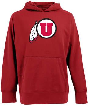 Antigua Men's Utah Utes Signature Pullover Fleece Hoodie