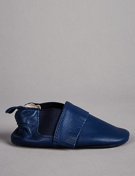 Marks and Spencer Baby Leather Slip-on Pram Shoes