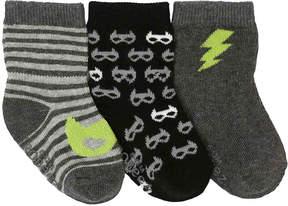 Robeez Boys Masked Hero Infant Socks - 3 Pack