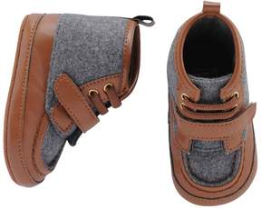 Carter's Baby Boy Wool Hiker Boot Crib Shoes