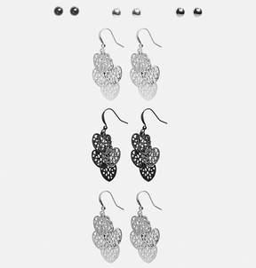 Avenue Heart Chandelier Earring Set