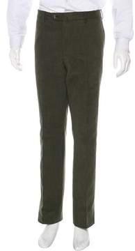 Loro Piana Woven Flat Front Pants