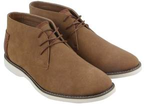 Steve Madden M-Ekhart Cognac Nubuck Mens Casual Dress Chukka Boots