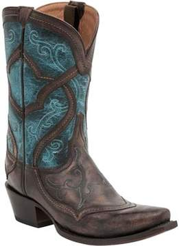 Lucchese Bootmaker M4917 S5 Toe Cowboy Boot (Women's)