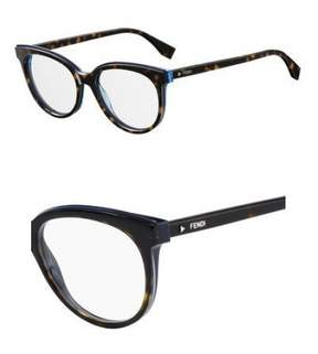 Fendi Eyeglasses Ff 254 0086 Dark Havana
