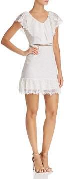 Aqua Lace Ruffle Dress - 100% Exclusive