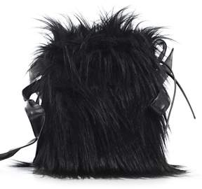 Simone Rocha Hairy Shoulder Bag