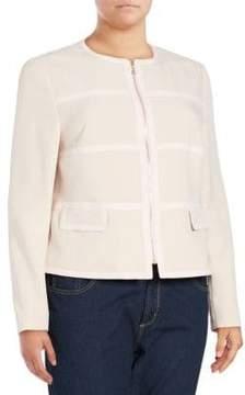 Basler Long-Sleeve Cropped Jacket