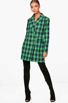 boohoo Check Blazer Dress