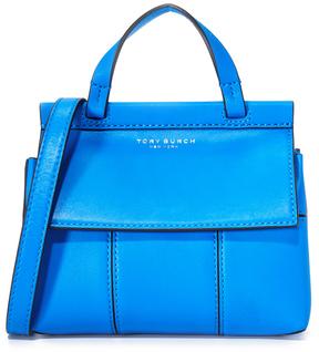 Tory Burch Block T Mini Top Handle Satchel - GALLERIA BLUE - STYLE
