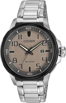 Citizen Men's AW1461-58H Eco-Drive AR Stainless Bracelet Watch
