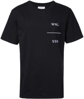 Public School embroidered T-shirt