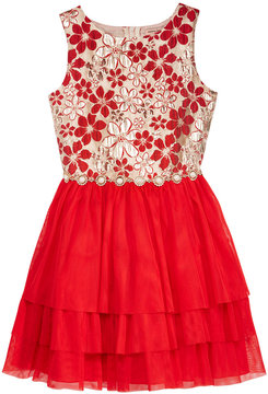 Nanette Lepore Brocade Bodice Dress, Big Girls (7-16)