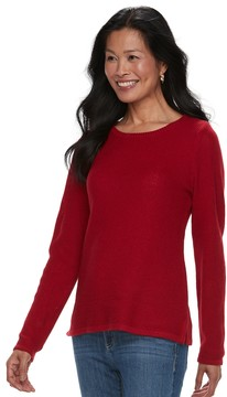 Croft & Barrow Women's Cozy Crewneck Sweater