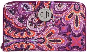 Vera Bradley RFID Turn-Lock Wallet