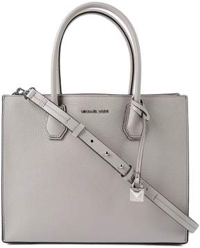 Michael Kors Large Mercer Convertible Tote - GREY - STYLE