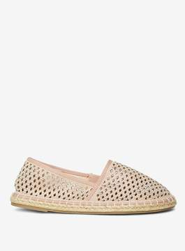 Dorothy Perkins Wide Fit Nude Cosmo Espadrilles