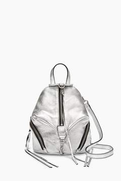 Rebecca Minkoff Convertible Mini Julian Backpack - METALLIC - STYLE