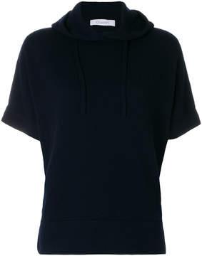 Cruciani short sleeve hoodie